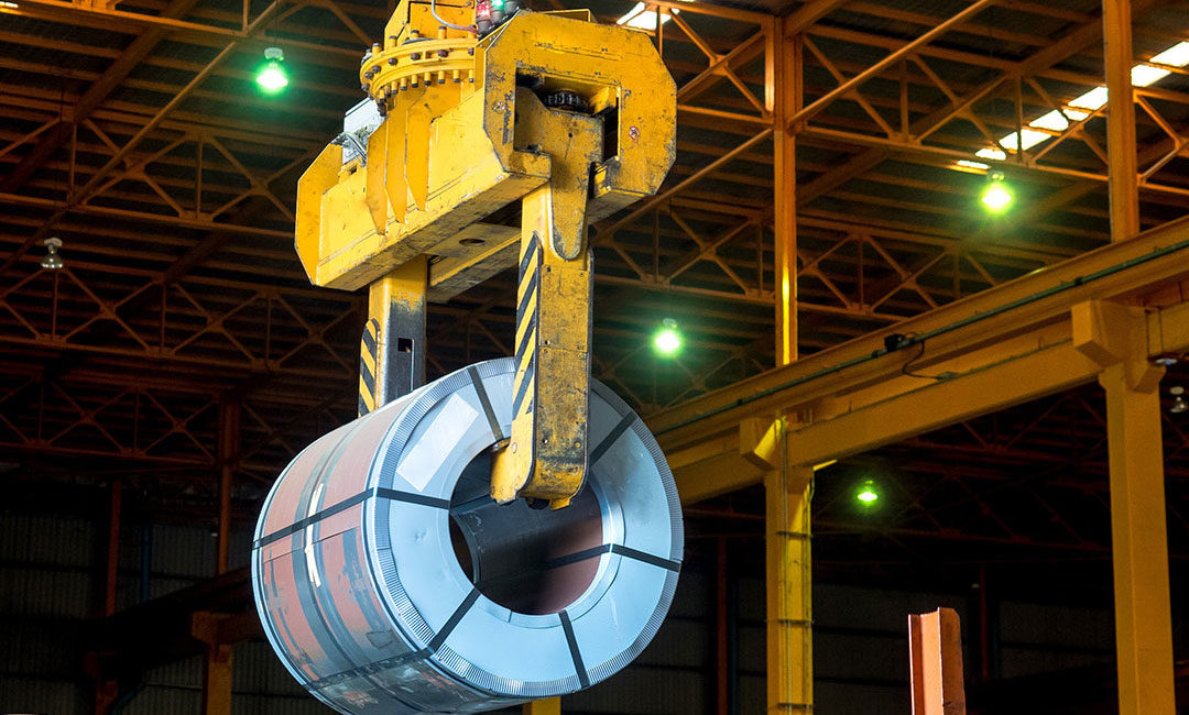 Client Success Story: Trutegra Automation Technology for Automated Coil Cranes